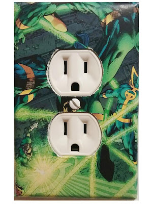 Green Lantern Outlet Cover