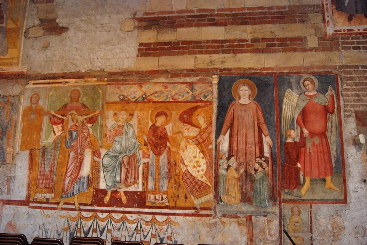 fresques de la basilique San Zeno