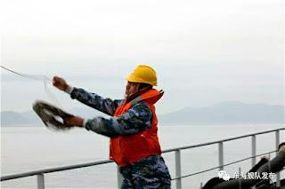 Ejercicio de apoyo logístico de la Flota del Este