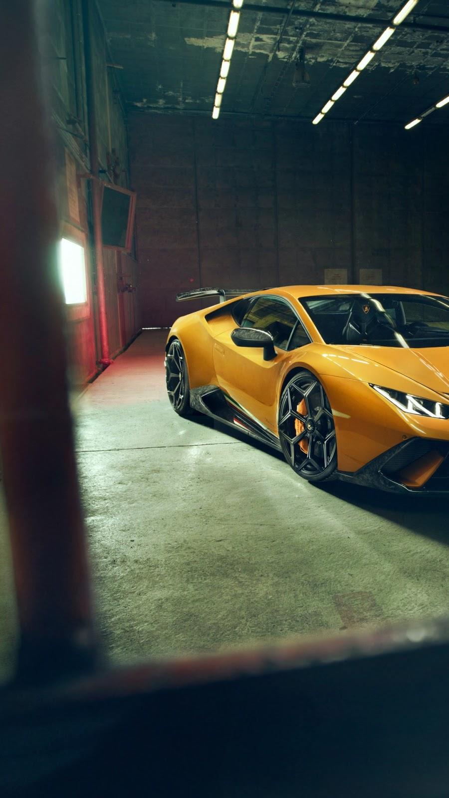 Papel de parede grátis Lamborghini Huracan Performante Novitec para PC, Notebook, iPhone, Android e Tablet.