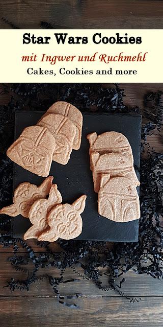 Rezept für Star Wars Ginger Cookies