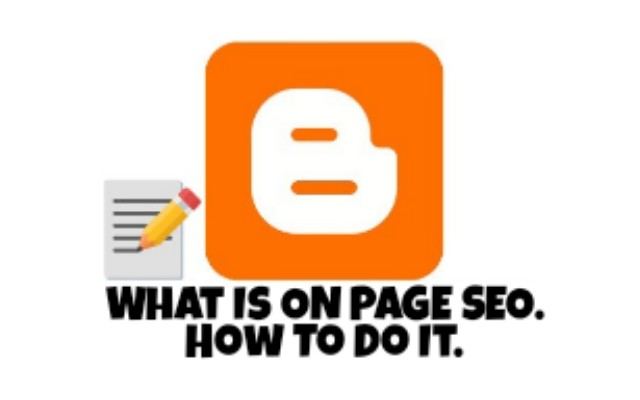 On Page SEO kya hai - जानिए। On Page SEO ko blogger me Kaise kare in hindi