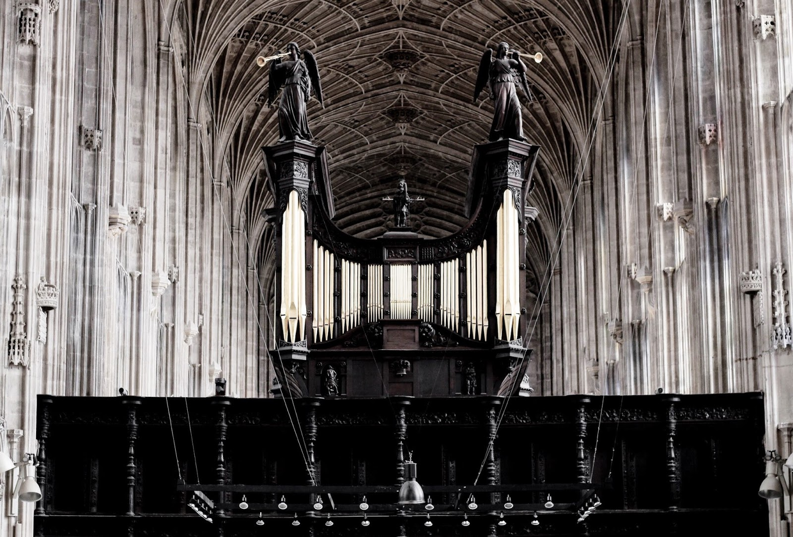 King's College Chapel Cambridge Organ Pipes
