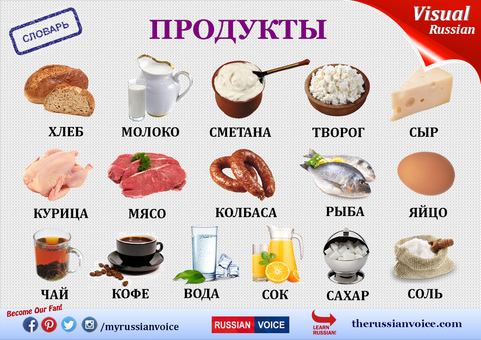 Materials On Learning Russian If