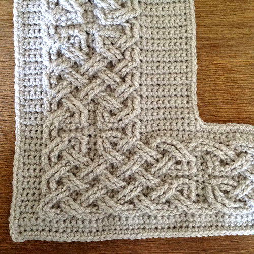 Large Celtic Cables - Free Pattern