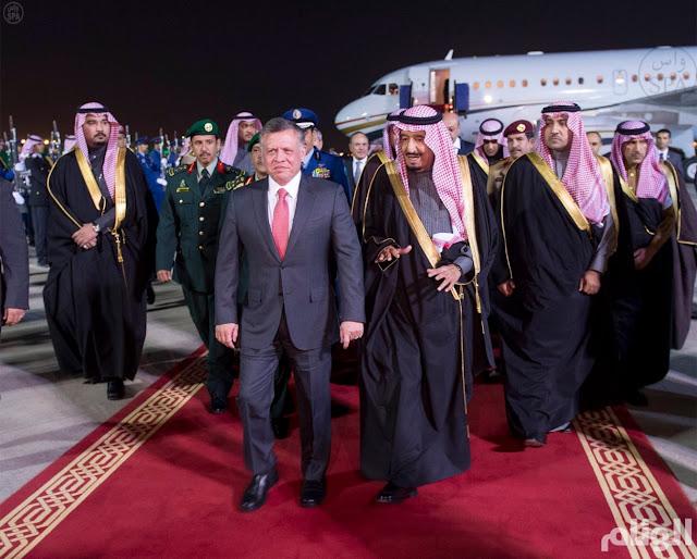 تسريب لقاء ملك الأردن مع أعضاء الكونجرس, و تصريحات مثيرة عن السعودية