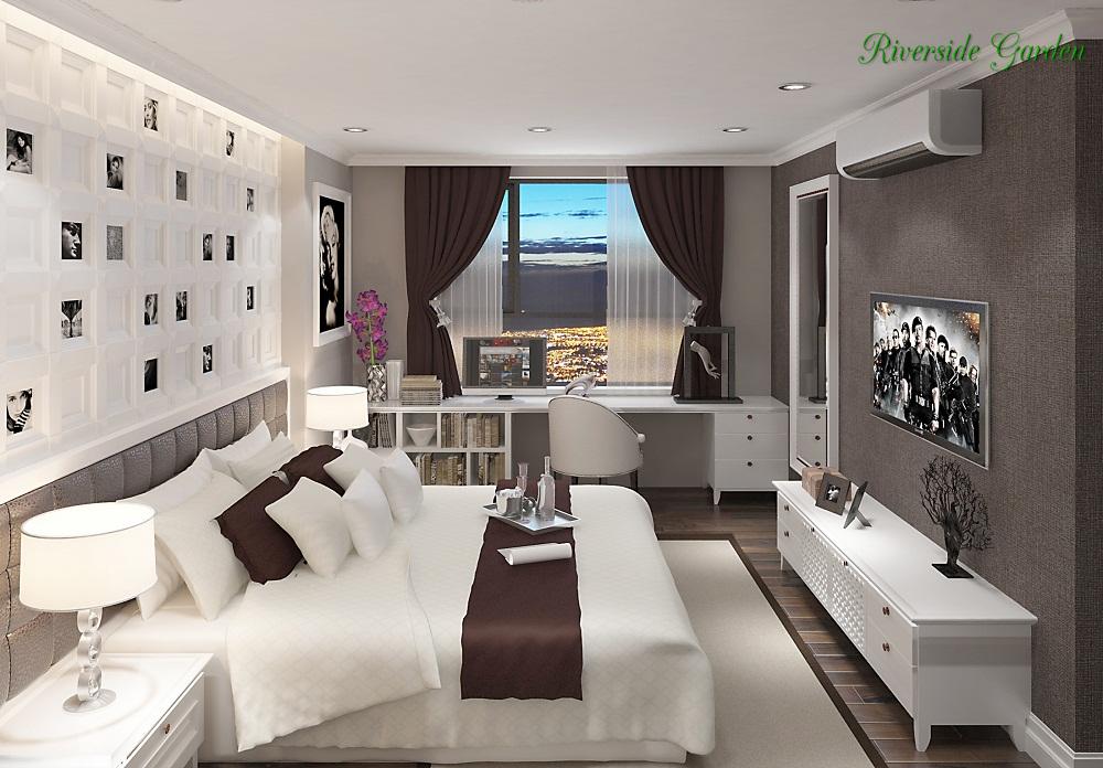 Phòng ngủ chung cư 349 Vũ Tông Phan