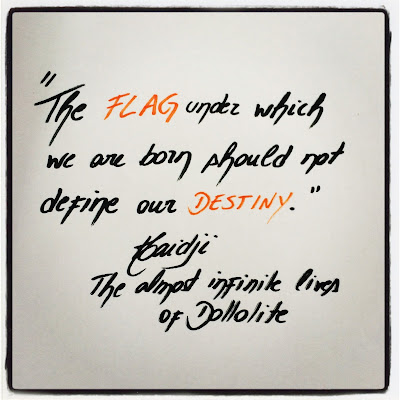 Destiny - Book Quote by Haidji - The almost infinite lives of Dollolite