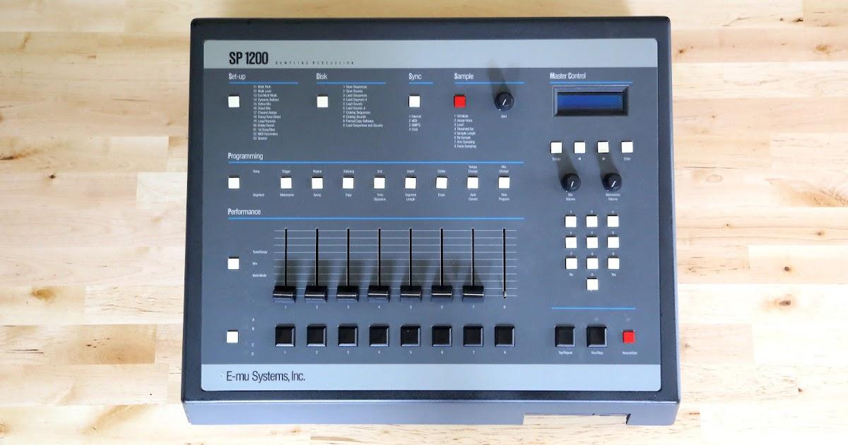 matrixsynth emu sp1200 vintage sampling drum machine with upgrades sample disks. Black Bedroom Furniture Sets. Home Design Ideas