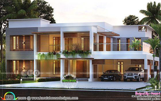 Beautiful simple contemporary style house, ₹30 lakhs