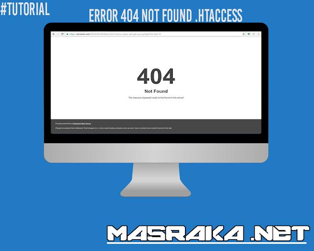 Error .htaccess