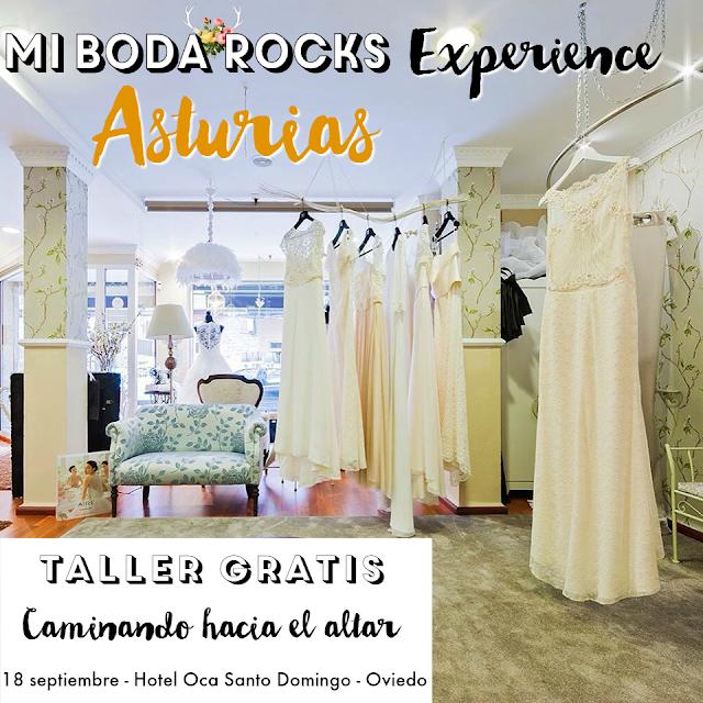 Taller gratis Caminando hacia el altar - Mi Boda Rocks Experience Oviedo Asturias