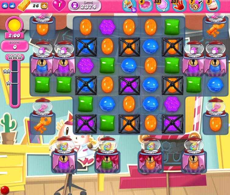 Candy Crush Saga level 2374