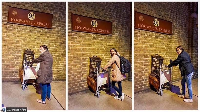 Indo estudar em Hogwarts - Harry Potter em Londres