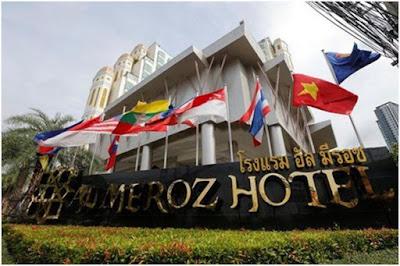 hotel halal Al Meroz Bangkok