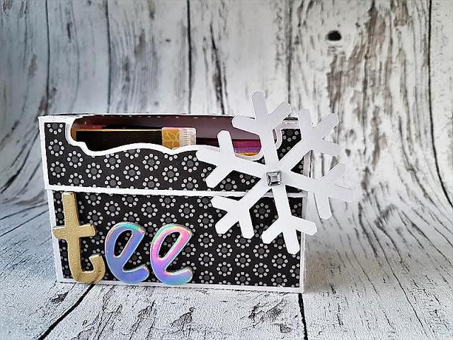Teebox aus Fotokarton