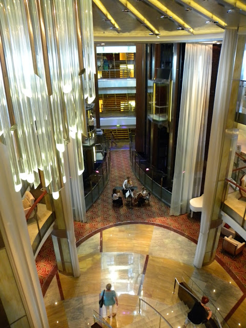 Celebrity Eclipse Main Lobby