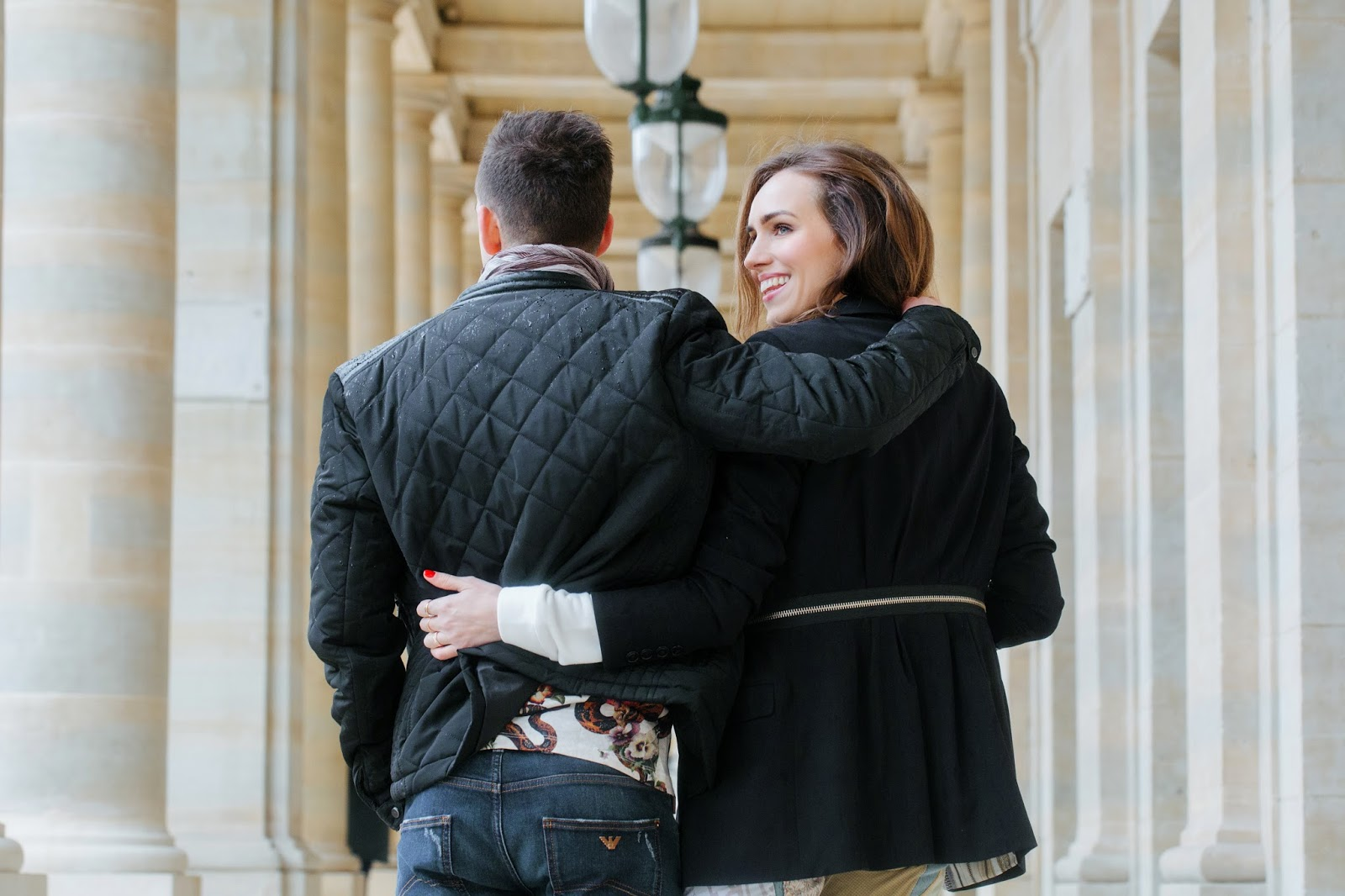 couple paris photoshoot