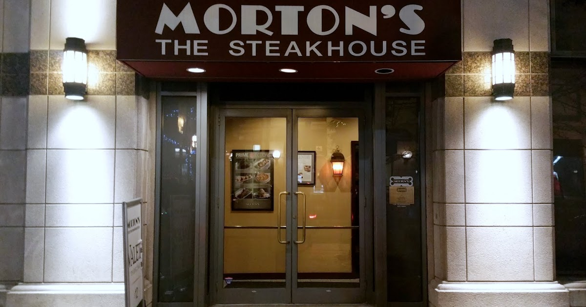 Morton's The Steakhouse - Food Junkie Chronicles