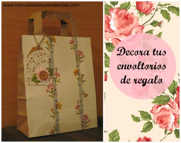 DIY Paquetes regalo personalizados / Customized gift wrapping / Emballage cadeau personnalisé
