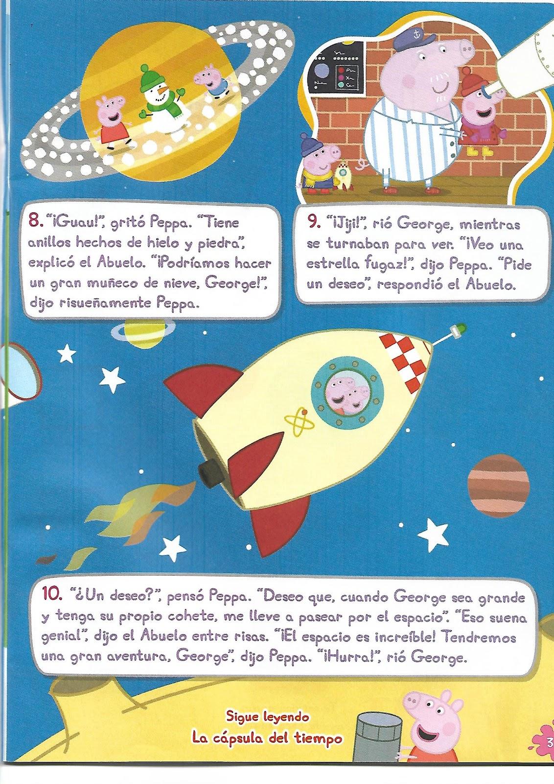 Atractivo Páginas De Peppa Pig Color Motivo - Enmarcado Para ...
