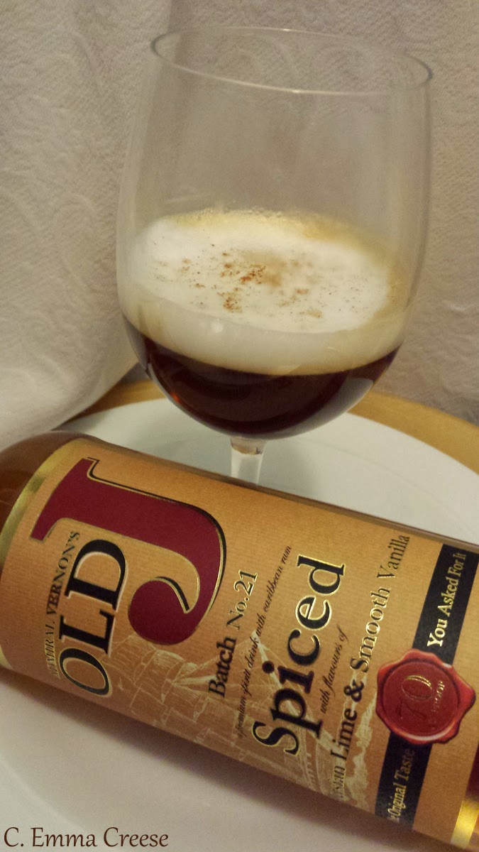 Old J Spiced Rum – Goodie bag giveaway and recipe competition NOW CLOSED