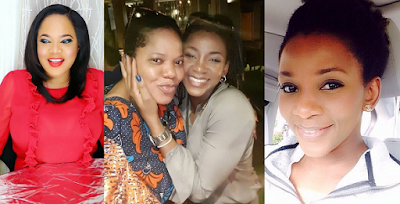 Toyin Abraham gushes over Genevieve Nnaji, hints at possibly working with her ?