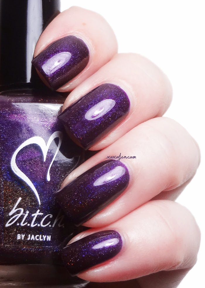 xoxoJen's swatch of b.i.t.c.h. by jaclyn Shake It Off