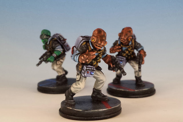 Converted Rebel Saboteurs, Imperial Assault FFG (2014, sculpted by B. Maillet)