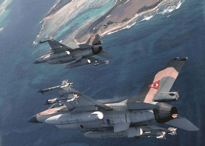 Aviones F-16 Venezolanos en acción