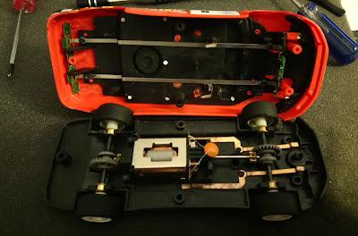 Carrocería del Mitsubishi Lancer Evo VII Scalextric