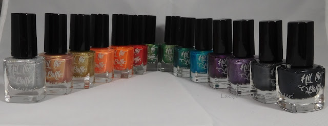 Stamping polishes from Hit The Bottle