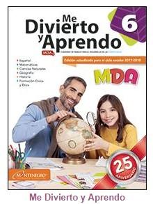 Me Divierto y Aprendo 6° grado Bloque 4 - Material Educativo - MDA 6