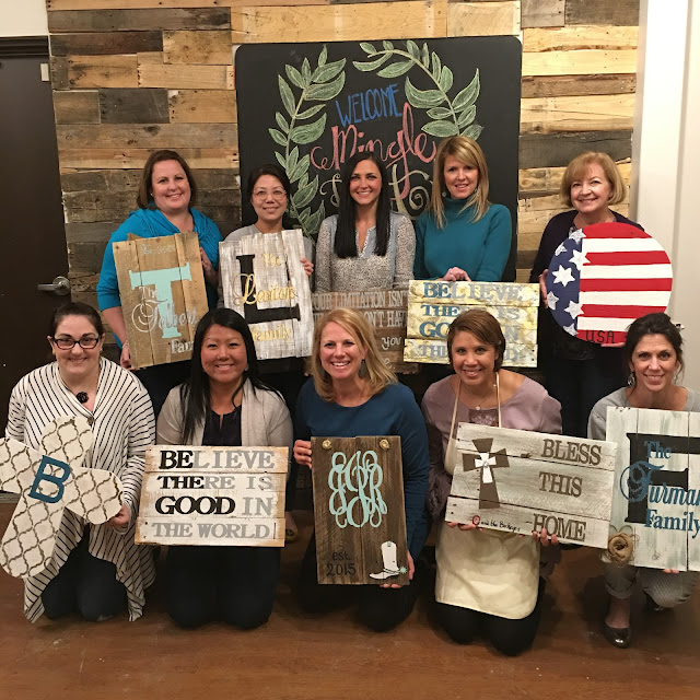 Sweet Grass Home Wine and Craft Girls Night