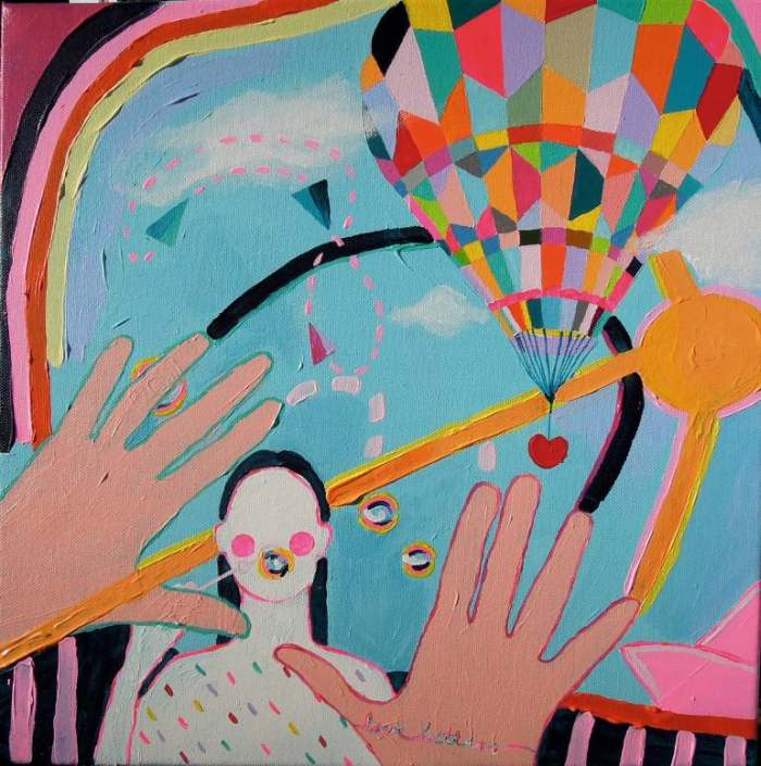 Венгерский художник. Andrea Kozma