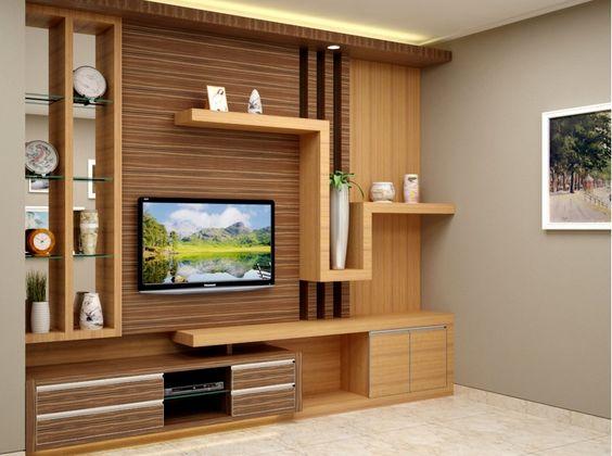Great  Best Units Designs Around TV