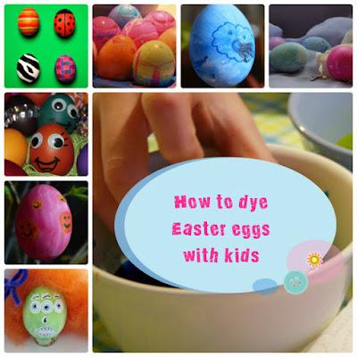 Πώς να βάψεις τα Πασχαλινά αυγά μαζί με τα παιδιά