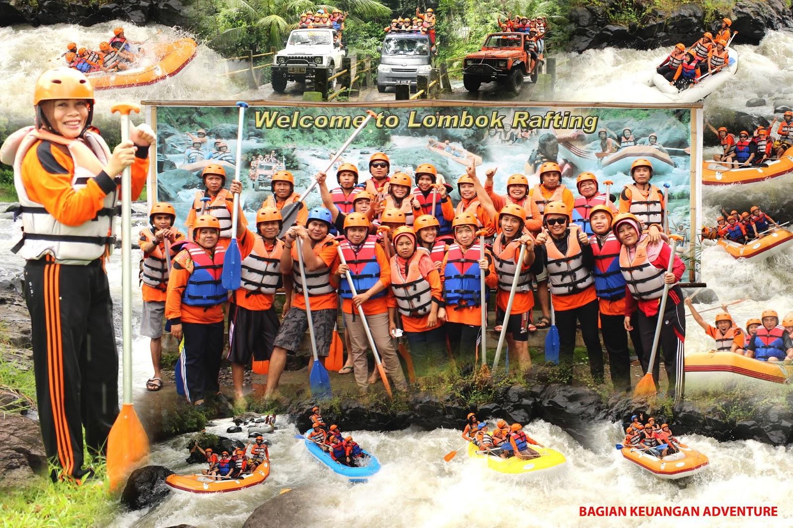 Pesona Lombok Lombok Rafting Experience
