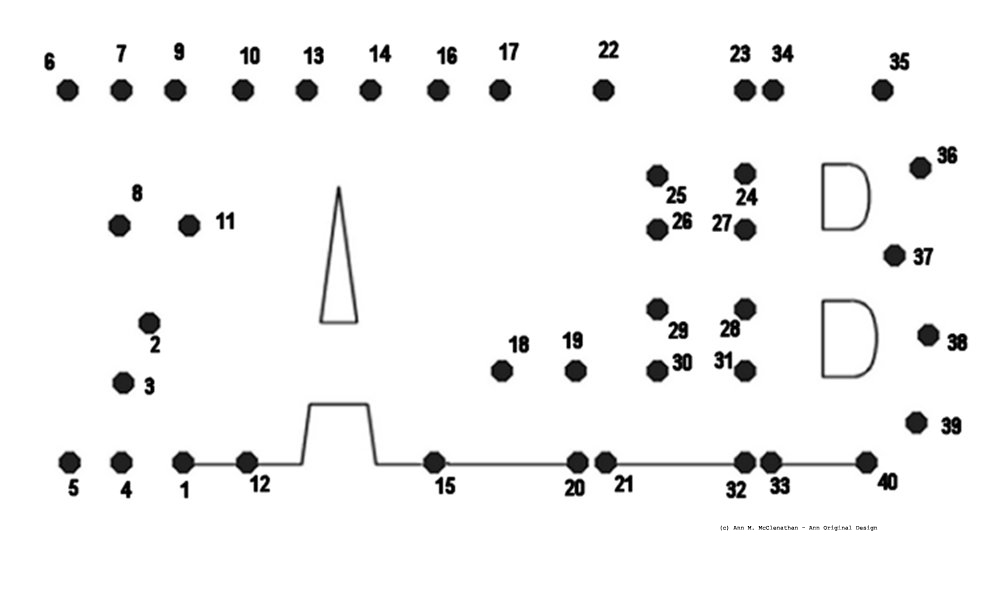 "Coloring & Activity Pages: ""Kaleb"" Dot-to-Dot"