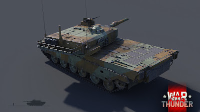 Type 90 japones en War Thunder
