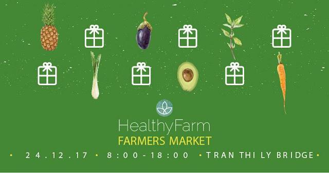 Phiên chợ nông dân HealthyFarm tháng 12
