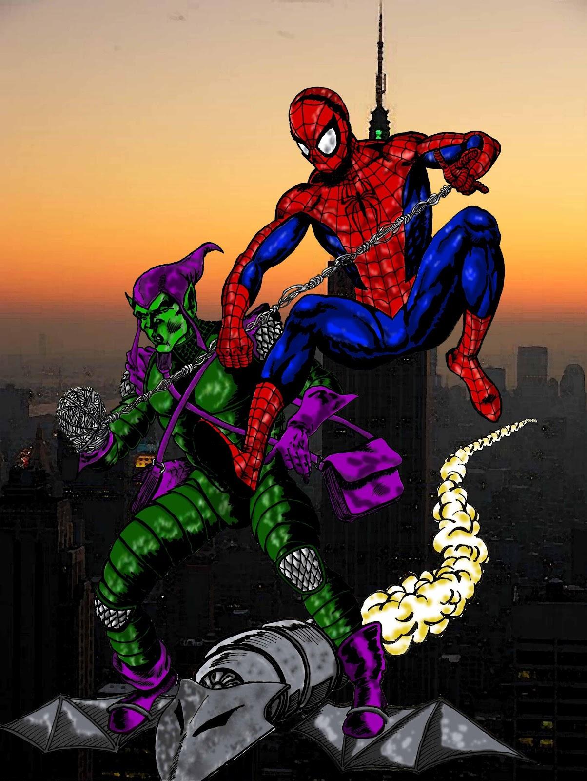 Alquimiayciencias Spiderman Y El Duende Verde Contra La Física