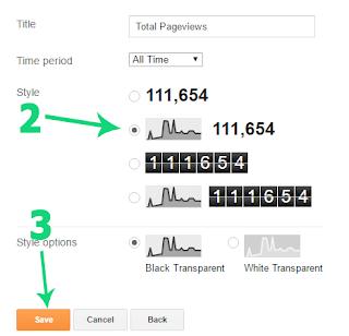 Mengubah Tampilan Page View Default Blogger