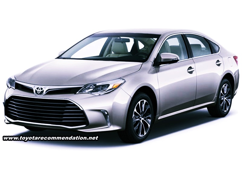 2018 Toyota Avalon Limited and Premium
