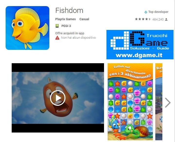 Soluzioni Fishdom livello 11 12 13 14 15 16 17 18 19 20 | Trucchi e Walkthrough level