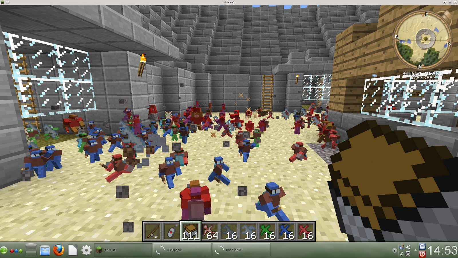 Minecraft Custom Maps and Skins: the Clay Soldier Arena