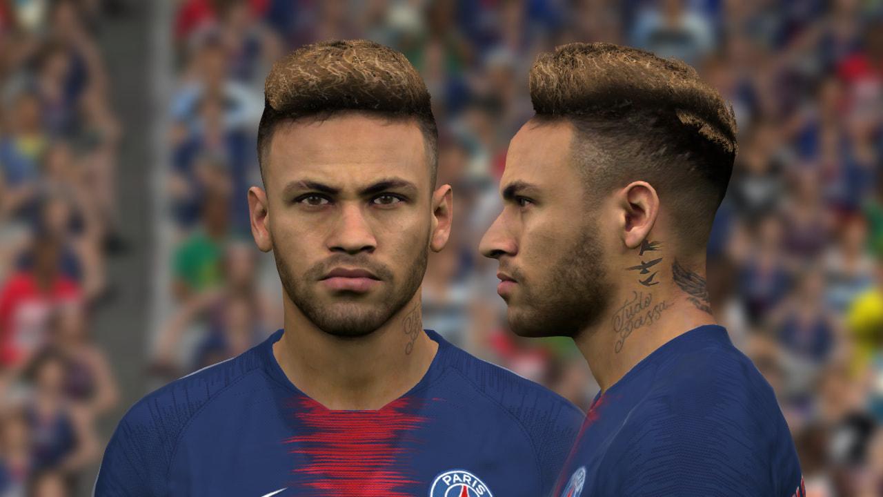 Neymar v12 Face PES 2017 by benHUSSAM-Facemaker