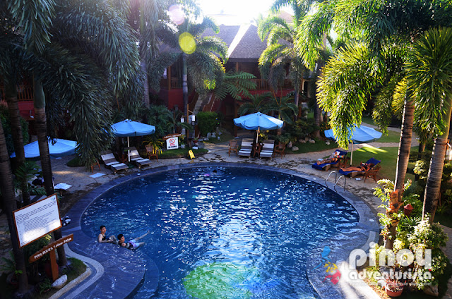 Swimming Pool at Boracay Tropics Resort Hotel