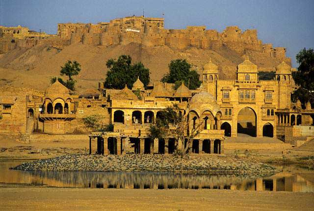 Bada Bagh, also called Barabagh is a garden complex about 6 km north of Jaisalmer on way to Ramgarh, and halfway between Jaisalmer and Lodhruva in the state of Rajasthan in India