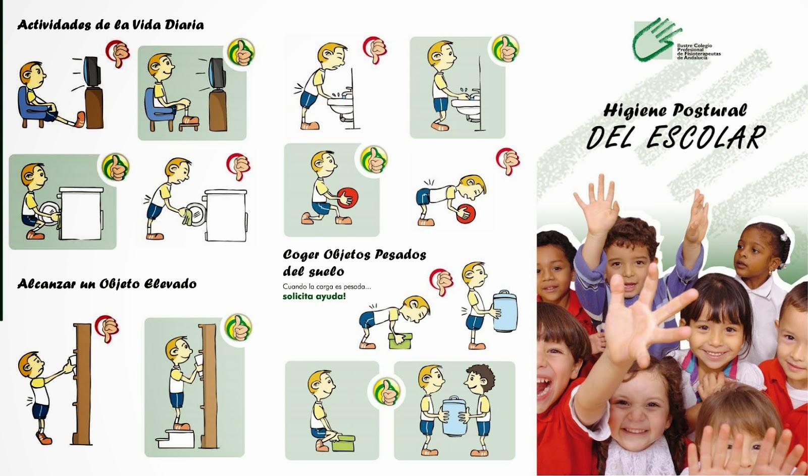 Educación Física en la Red: Higiene postural en la escuela